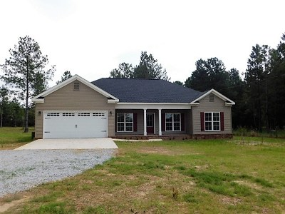 McDuffie County Single Family Home For Sale: 2717 Ellington Airline Road