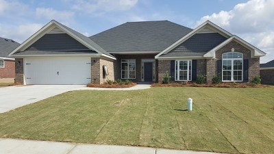 Hephzibah Single Family Home For Sale: 4740 Weldon Adams Drive