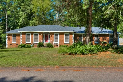 North Augusta Single Family Home For Sale: 211 Longmeadow Road