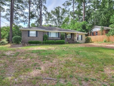 Augusta Single Family Home For Sale: 924 Eisenhower Drive