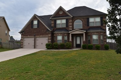 Augusta Single Family Home For Sale: 3429 Covington Court