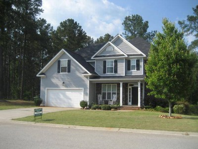 Evans Single Family Home For Sale: 1103 Hunters Cove