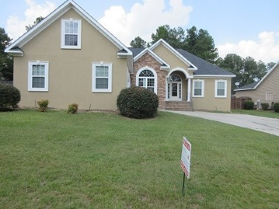 North Augusta Single Family Home For Sale: 2041 Scenic Foundation Drive