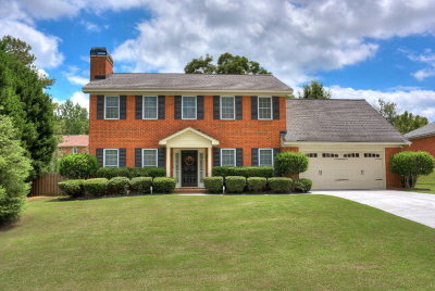 Evans Single Family Home For Sale: 4582 Swan Drive