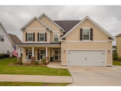 Grovetown Single Family Home For Sale: 822 Herrington Drive