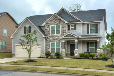 Grovetown Single Family Home For Sale: 8836 Crenshaw Drive