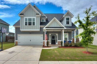 Grovetown Single Family Home For Sale: 728 Southwick Avenue