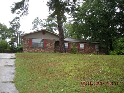 Augusta Single Family Home For Sale: 2325 Cadden Road