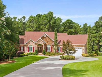 North Augusta Single Family Home For Sale: 115 Steamboat Court