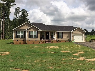 McDuffie County Single Family Home For Sale: 4349 Reeves Road