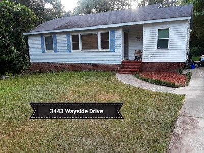 Augusta Single Family Home For Sale: 3443 Wayside Drive