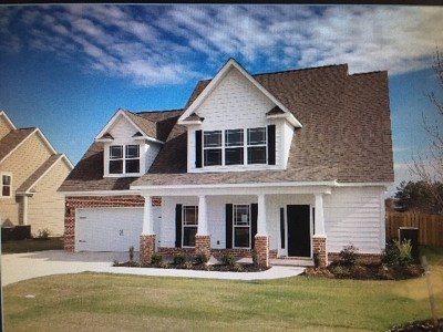 Grovetown Single Family Home For Sale: 471 Marble Falls