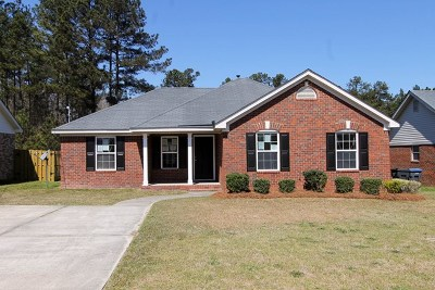 Augusta Single Family Home For Sale: 3255 Peninsula Drive