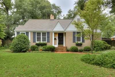 Augusta Single Family Home For Sale: 3020 Cardinal Drive