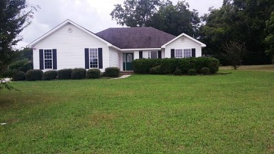 McDuffie County Single Family Home For Sale: 1037 Huntly Circle