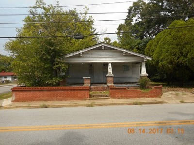 Augusta Single Family Home For Sale: 1017 Wrightsboro Road