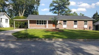 Augusta Single Family Home For Sale: 1606 Fairwood Drive