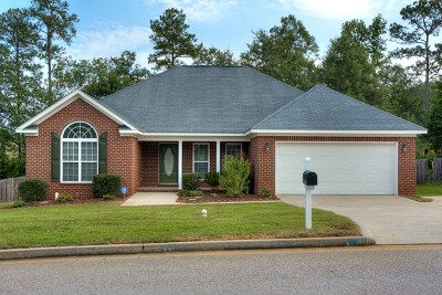 Grovetown Single Family Home For Sale: 4538 Country Glen Circle