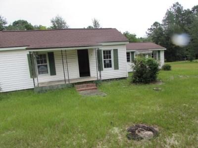 Millen GA Single Family Home For Sale: $19,900