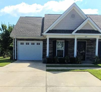 North Augusta Single Family Home For Sale: 475 Harvester Drive