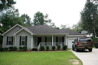 North Augusta Single Family Home For Sale: 235 Carriage Lane