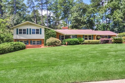 Augusta Single Family Home For Sale: 603 Wellesley Drive