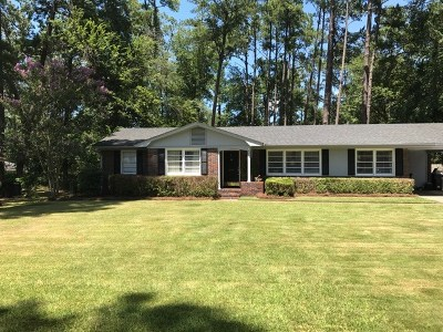 Augusta Single Family Home For Sale: 2907 Stratford Drive
