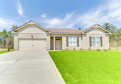 North Augusta Single Family Home For Sale: 124 Running Creek Drive