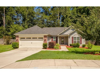Grovetown Single Family Home For Sale: 928 Arbor Springs Circle