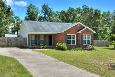 Richmond County Single Family Home For Sale: 2136 Mims Road