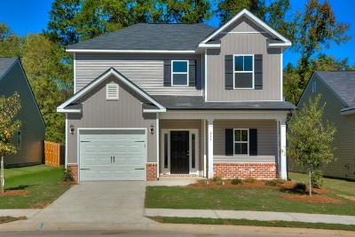 Grovetown GA Single Family Home For Sale: $184,125