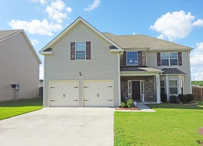 Richmond County Single Family Home For Sale: 2140 Willhaven Drive