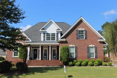 Grovetown GA Single Family Home For Sale: $299,900