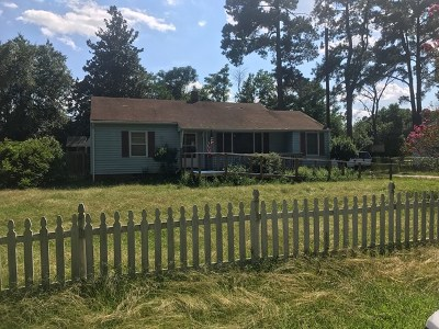 Augusta GA Single Family Home For Sale: $39,800