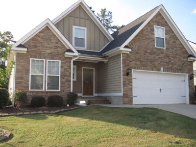 Grovetown GA Single Family Home For Sale: $218,000