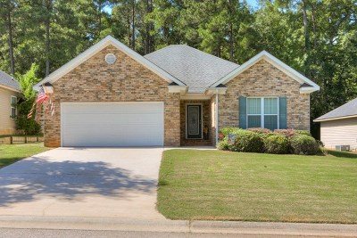 Grovetown GA Single Family Home For Sale: $165,000