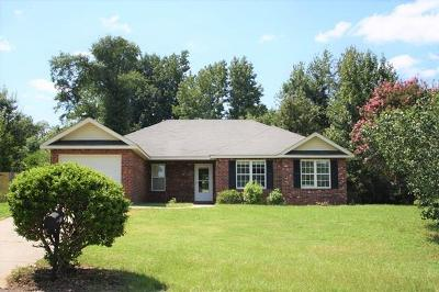 Augusta Single Family Home For Sale: 1753 Harrogate Drive