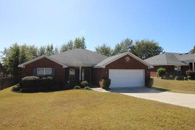 Grovetown GA Single Family Home For Sale: $164,900