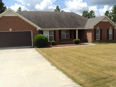 Augusta Single Family Home For Sale: 2551 Smoketree Road