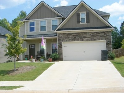 Grovetown Single Family Home For Sale: 3926 Berkshire Way