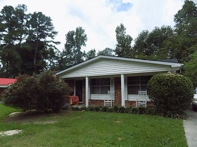 Richmond County Single Family Home For Sale: 2615 Drayton Drive