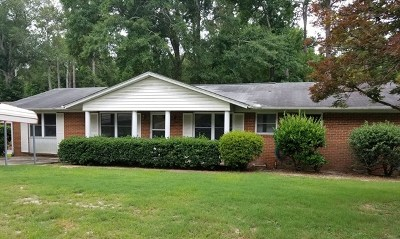Augusta Single Family Home For Sale: 2104 Chadwick Road