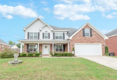 Grovetown Single Family Home For Sale: 5039 Reynolds Way