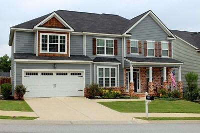 Grovetown Single Family Home For Sale: 1585 Baldwin Lakes Drive