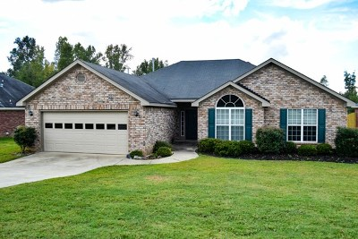 Grovetown Single Family Home For Sale: 1229 Creek Bend Drive