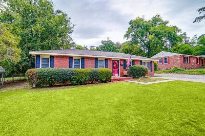 Augusta Single Family Home For Sale: 1640 Pendleton Road