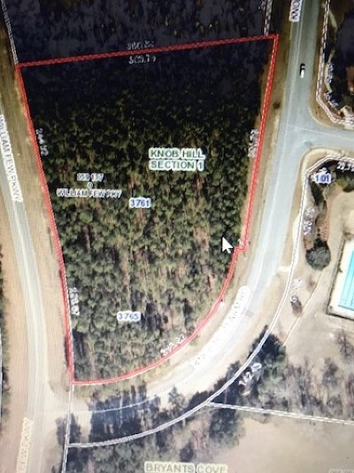 Evans Residential Lots & Land For Sale: 3761/5 William Few Pkwy