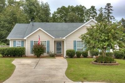 Grovetown Single Family Home For Sale: 4907 Creek Bottom Court