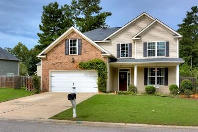 Grovetown Single Family Home For Sale: 4020 Ellington Drive