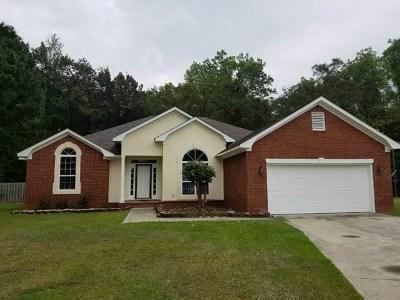 Hephzibah Single Family Home For Sale: 2782 Davis Mill Road